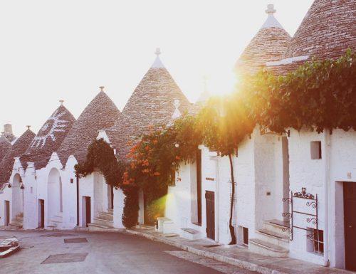tre meraviglie d'Italia in una giornata sola: alba sui trulli, pranzo a Polignano e tramonto a Matera