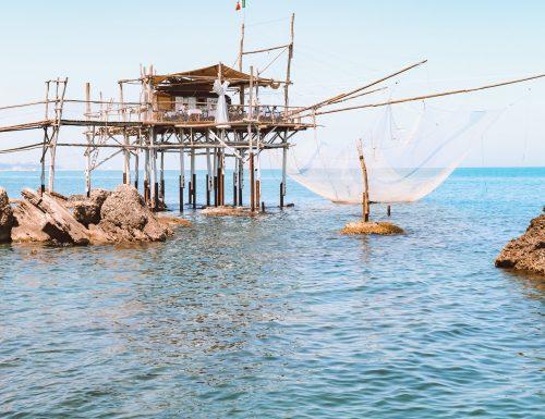 """Itinerario sulla """"costa dei Trabocchi"""" in Abruzzo"""