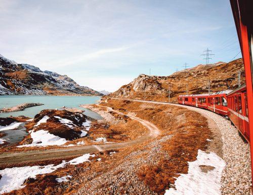 trenino rosso del Bernina: come organizzare il viaggio